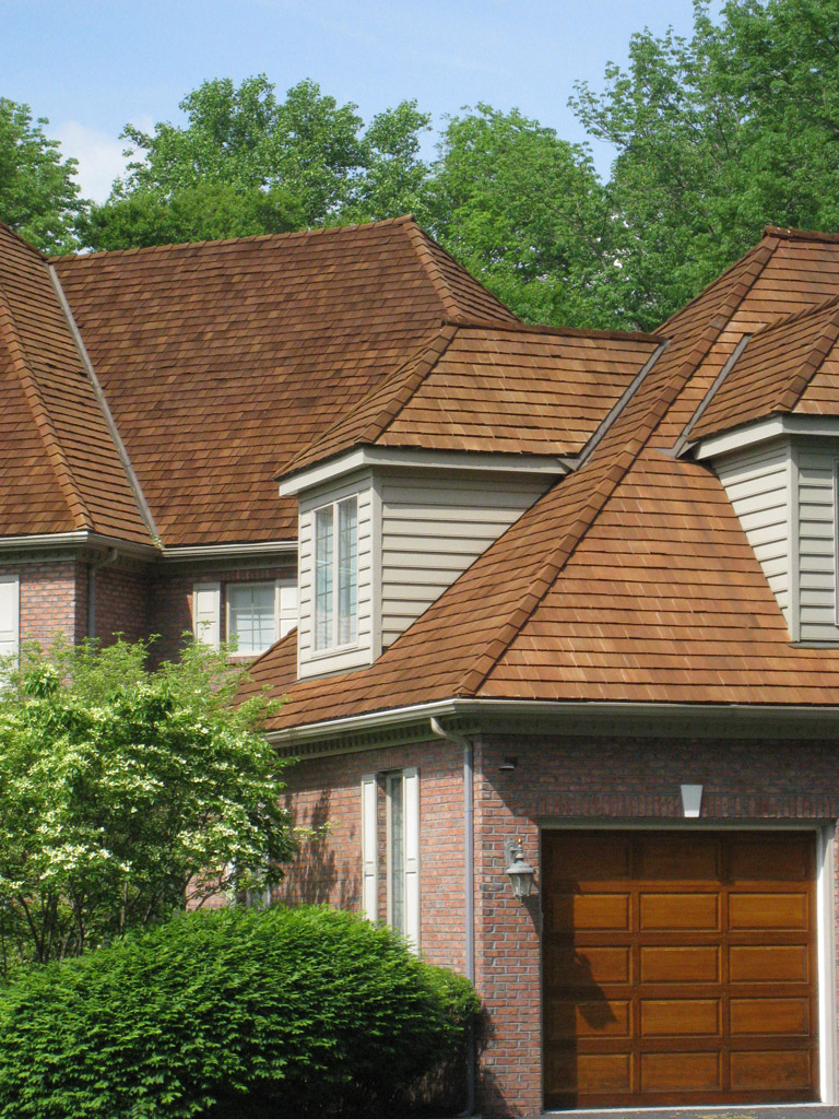 Wonderful Years Ago Somerset Lake Homeowner John Knotts Decided To Have The Cedar Roof  Company (CRC) Clean And Preserve The Cedar Roof On His Home.
