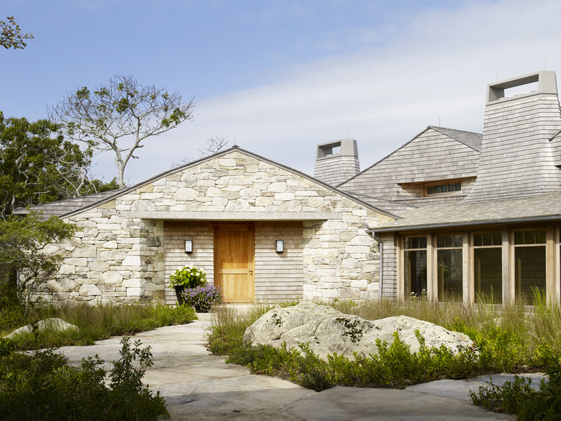 Cedar roof home design